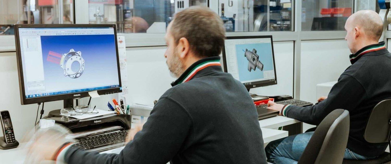 Lavorazioni meccaniche di precisione-ufficio cad cam OMP snc